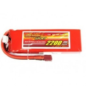 -giant-power-dinogy-sport-3s-2200mah-30c-lipo-battery-ds-3s2200d